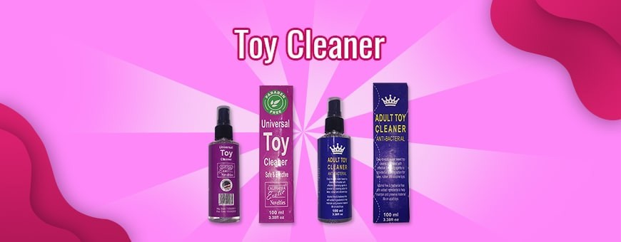 All kind of artificial sex toys cleaner